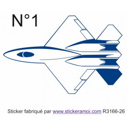 Sticker - avion (R3166-26)