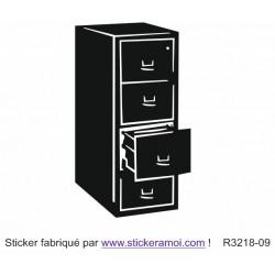 Sticker - Meuble tiroir (R3218-09