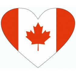 Drapeau Canada Coeur (REFM209)