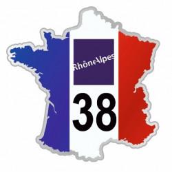 Sticker département 38 Isère