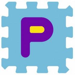 Sticker lettre P