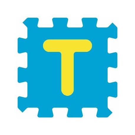 Sticker alphabet lettre T