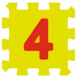 Sticker chiffre 4 quatre