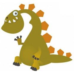 Autocollant mural Dinosaure