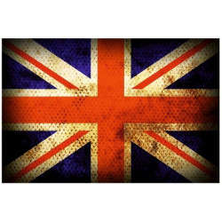 Sticker drapeau Angleterre Anglais