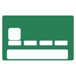 Sticker carte bancaire Coloris au choix