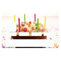 Sticker carte bancaire Gateau bougies
