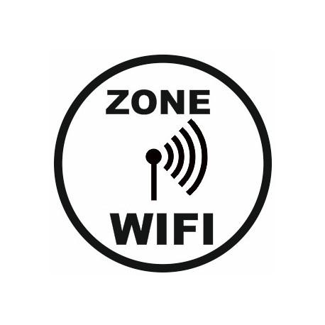 Sticker Zone Wifi