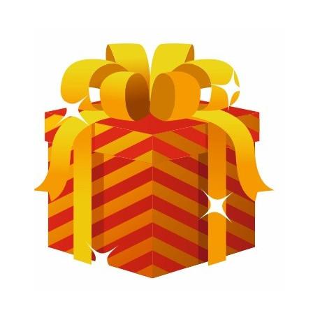 Sticker Mural Cadeau De Noel Univers Noel Pour Votre Decoration