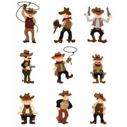 Sticker Cowboy Chef