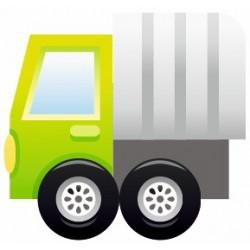 Sticker Camion Ambulance