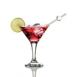 Sticker verre cocktail cosmopolitan