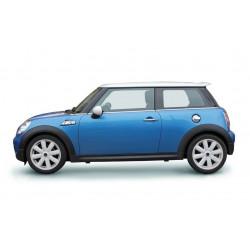 Sticker voiture mini cooper bleu