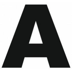 Sticker lettre A