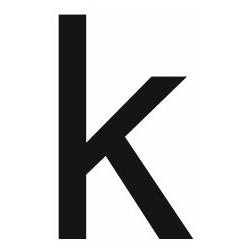 Sticker lettre K