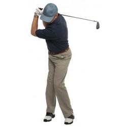 Sticker golfeur entraineur