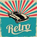 Plaque auto vintage