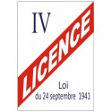 Licence / Alcool
